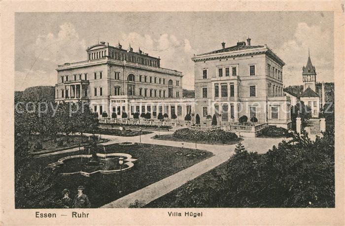 AK / Ansichtskarte Essen_Ruhr Villa Huegel Essen_Ruhr