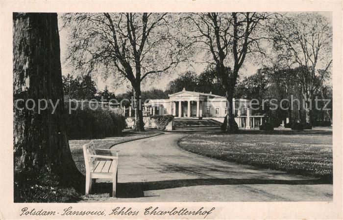 AK / Ansichtskarte Potsdam Sanssouci Schloss Charlottenhof Potsdam