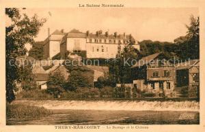 AK / Ansichtskarte Thury Harcourt Burrage Chateau Thury Harcourt