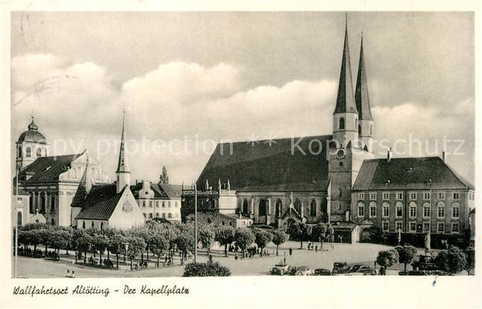 AK / Ansichtskarte Altoetting Kapellplatz Altoetting
