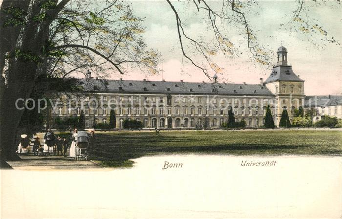 AK / Ansichtskarte Bonn_Rhein Universitoet Bonn_Rhein
