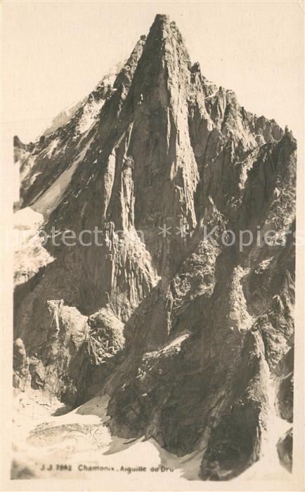AK / Ansichtskarte Chamonix Aiguille Chamonix
