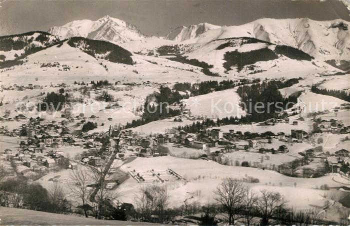 AK / Ansichtskarte Megeve Mont Blanc Mont July Megeve