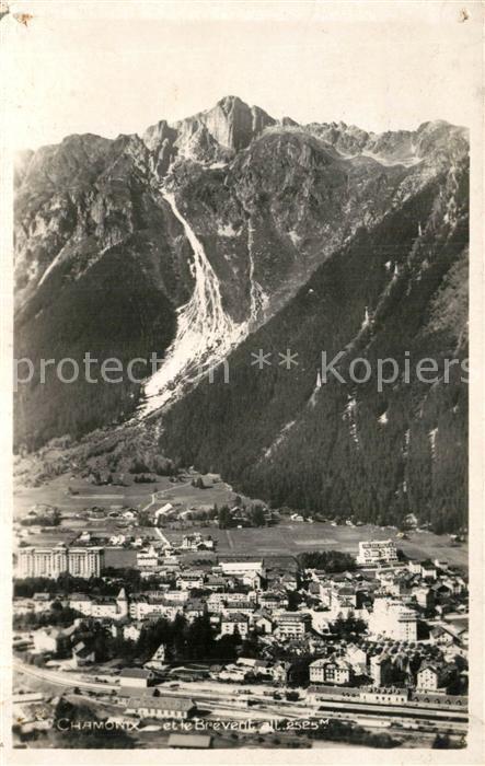 AK / Ansichtskarte Chamonix Panorama Chamonix