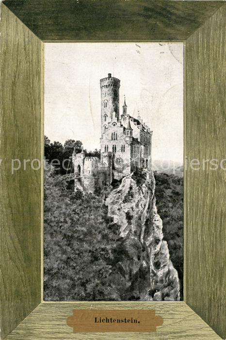 AK / Ansichtskarte Lichtenstein_Wuerttemberg Schloss Lichtenstein_Wuerttemberg