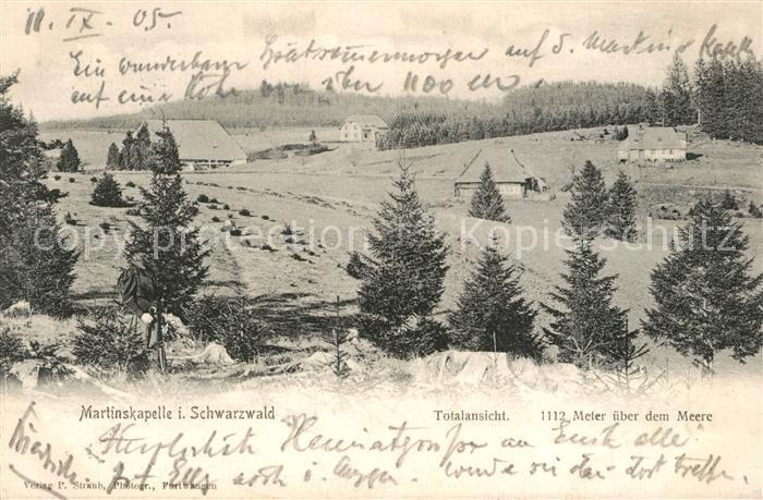 AK / Ansichtskarte Furtwangen Martinskapelle  Furtwangen