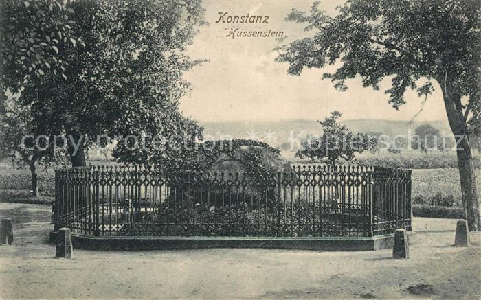 AK / Ansichtskarte Konstanz_Bodensee Hussenstein Konstanz_Bodensee