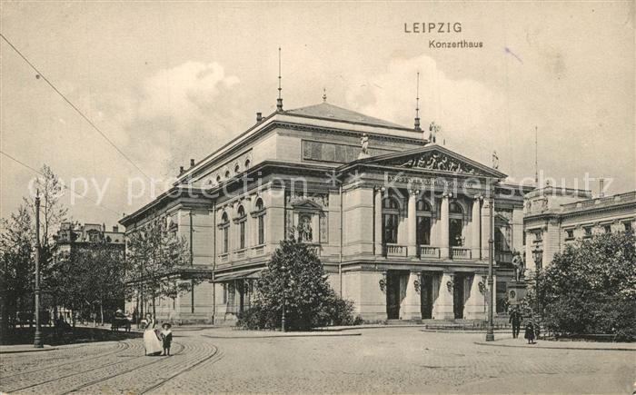 AK / Ansichtskarte Leipzig Konzerthaus Leipzig