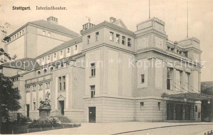 AK / Ansichtskarte Stuttgart Interimtheater Stuttgart