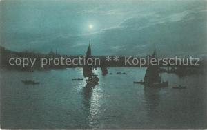 AK / Ansichtskarte Constantinople La Corne d'Or ou clair de lune Constantinople