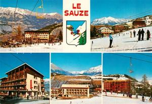 AK / Ansichtskarte Le_Sauze du Lac Vues sur la Station Le_Sauze du Lac