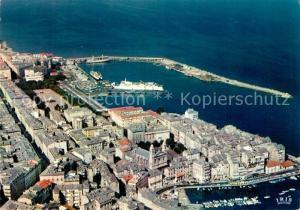 AK / Ansichtskarte Bastia le Vieux Port et la Ville Vue aerienne Bastia