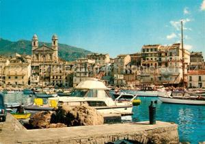 AK / Ansichtskarte Bastia Le Vieux Port Bastia