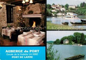 AK / Ansichtskarte Port de Lanne Auberge du Port Escale de la Vedette La Hire Port de Lanne