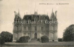 AK / Ansichtskarte Durtal Chateau La Bouchardiere Schloss Durtal