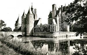 AK / Ansichtskarte Lassay sur Croisne Chateau du Moulin XVe siecle Schloss Lassay sur Croisne