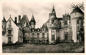 AK / Ansichtskarte Malesherbes Chateau de Rouville Schloss Malesherbes