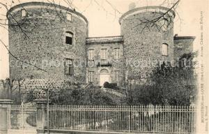 AK / Ansichtskarte Monistrol sur Loire Ancien Chateau des Eveques Schloss Monistrol sur Loire