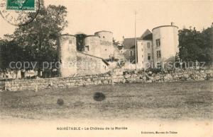 AK / Ansichtskarte Noiretable Chateau de la Merlee Schloss Noiretable