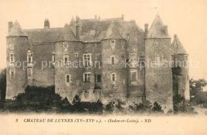 AK / Ansichtskarte Luynes_Indre et Loire Chateau Schloss Luynes Indre et Loire