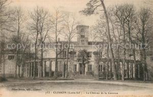 AK / Ansichtskarte Clisson Chateau de la Garenne Clisson