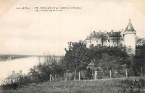 AK / Ansichtskarte Chaumont sur Loire Chateau et Vallee de la Loire Schloss Chaumont sur Loire