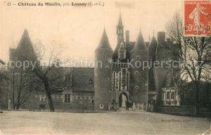 AK / Ansichtskarte Lassay sur Croisne Chateau du Moulin Schloss Lassay sur Croisne