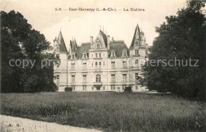 AK / Ansichtskarte Cour Cheverny La Sistiere Cour Cheverny