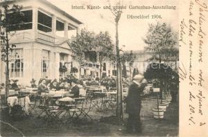 AK / Ansichtskarte Duesseldorf Internationale Kunst und grosse Gartenbau Ausstellung Duesseldorf