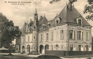 AK / Ansichtskarte Montereau Fault Yonne Chateau de Cannes Schloss Montereau Fault Yonne