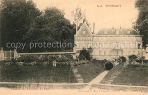 AK / Ansichtskarte Thorigny Lagny Chateau des Fontaines Parc Schloss Park