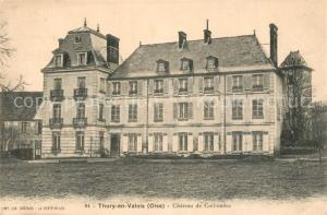 AK / Ansichtskarte Thury en Valois Chateau de Collinance Thury en Valois
