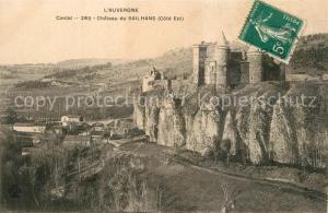 AK / Ansichtskarte Saint Flour_Cantal Chateau du Sailhans Schloss Saint Flour Cantal