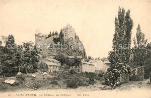 AK / Ansichtskarte Saint Flour_Cantal Chateau du Sailhans Saint Flour Cantal