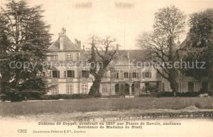 AK / Ansichtskarte Coppet Chateau XIIIe siecle Residence de Madame de Stael Coppet