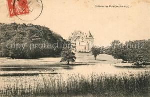 AK / Ansichtskarte Dordogne Chateau de Puycharnaud Dordogne