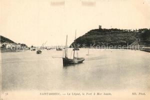 AK / Ansichtskarte Saint Brieuc_Cotes d_Armor Le Legue le Port a Mer haute Saint Brieuc_Cotes d