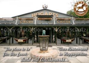 AK / Ansichtskarte Hoppegarten Hogarts Circus Caffee Hoppegarten