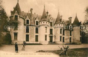 AK / Ansichtskarte Saint Avertin Chateau de Cange Schloss Saint Avertin