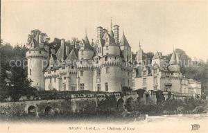 AK / Ansichtskarte Rigny Usse Chateau d Usse Schloss Rigny Usse