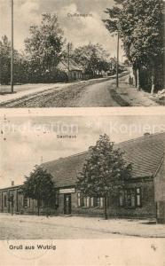 AK / Ansichtskarte Wutzig_Dramburg_Pommern Gasthaus Ansicht