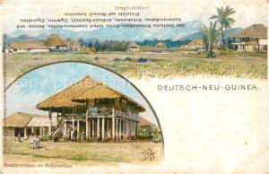 AK / Ansichtskarte Deutsch Neuguinea Stephansort Assistenhaus Deutsch Neuguinea