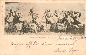AK / Ansichtskarte Neukaledonien Danse guerriere Neukaledonien