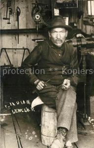 AK / Ansichtskarte Wrangell_Alaska Indian Juwelier