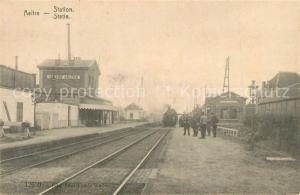 AK / Ansichtskarte Aeltre Bahnstation Aeltre