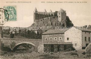 AK / Ansichtskarte Andelat Chateau du Saillant XVIe siecle Schloss Andelat