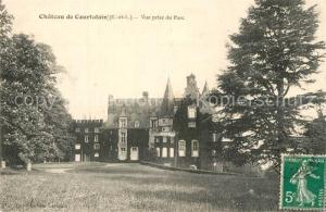 AK / Ansichtskarte Courtalain Chateau vue prise du parc Schloss Courtalain