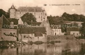 AK / Ansichtskarte Chateauneuf sur Cher Le Chateau Chateauneuf sur Cher