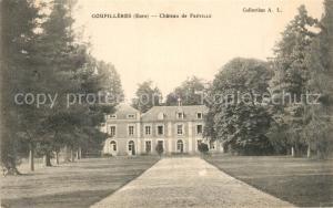 AK / Ansichtskarte Goupillieres_Eure Chateau de Freville Goupillieres Eure