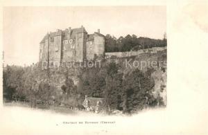 AK / Ansichtskarte Boussac_Creuse Chateau de Boussac Boussac Creuse